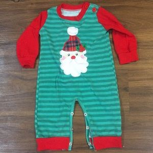 Other - One piece boy Santa outfit